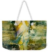 London Rain Theme Weekender Tote Bag