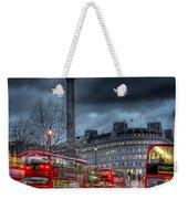 London Red Buses Weekender Tote Bag