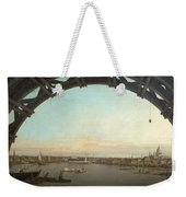 London Seen Through An Arch Of Westminster Bridge Weekender Tote Bag
