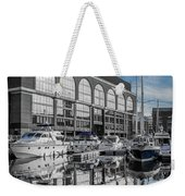 London. St. Katherine Dock. Reflections. Weekender Tote Bag