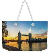 London Sunrise 2 Weekender Tote Bag