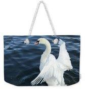 London Swan Weekender Tote Bag