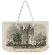 London Tattershall Castle, Lincolnshire. Published 1 Dec 1849 Weekender Tote Bag
