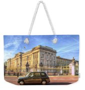 London Taxi And Buckingham Palace  Weekender Tote Bag