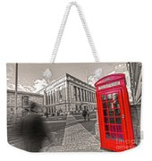 London Telephone 2 C Weekender Tote Bag