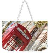 London Telephone 3 Weekender Tote Bag