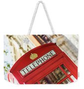 London Telephone 3 Weekender Tote Bag