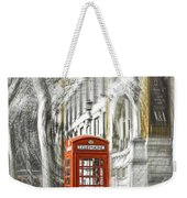 London Telephone C Weekender Tote Bag