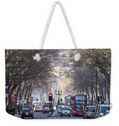 London Thoroughfare Weekender Tote Bag
