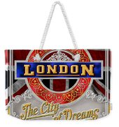 London Town Weekender Tote Bag