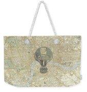London Travels Weekender Tote Bag