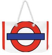 London Underground Blank Weekender Tote Bag