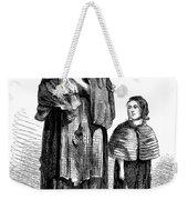 London, Vagrants, 1861 Weekender Tote Bag