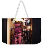 London Window By Night Weekender Tote Bag