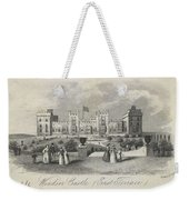 London Windsor Castle East Terrace, The Queen's Private Apartments Weekender Tote Bag