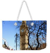 London's Big Ben Weekender Tote Bag