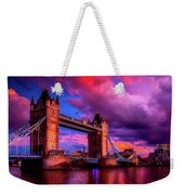 London's Tower Bridge Weekender Tote Bag
