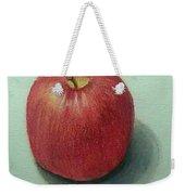 Lone Apple Weekender Tote Bag