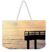 Lone Bird At Morning Weekender Tote Bag