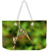 Lone Dragonfly Weekender Tote Bag
