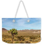 Lone Joshua Tree - Pleasant Valley Weekender Tote Bag