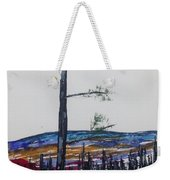 Lone Pine Over The Valley Weekender Tote Bag