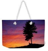 Lone Pine Sunset Weekender Tote Bag