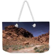 Lone Rock Road Overton Nevada  Weekender Tote Bag