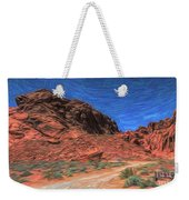 Lone Rock Road Paint  Weekender Tote Bag