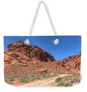 Lone Rock Valley Of Fire  Weekender Tote Bag