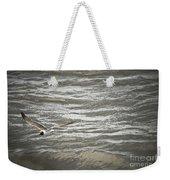 Lone Sea Gull Weekender Tote Bag