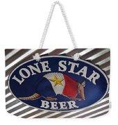Lone Star Beer Weekender Tote Bag