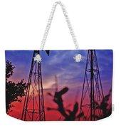 Lone Star Sunset Weekender Tote Bag