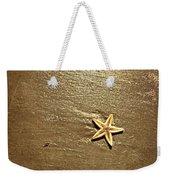 Lone Starfish On The Beach Weekender Tote Bag