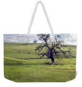 Lone Tree And Cows Weekender Tote Bag