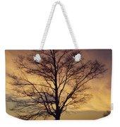Lone Tree At Sunrise Weekender Tote Bag