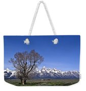Lone Tree At Tetons Weekender Tote Bag