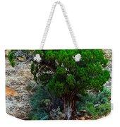 Lone Tree On A Cliff Weekender Tote Bag