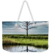 Lone Tree Reflected Weekender Tote Bag