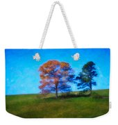 Lone Trees Painting Weekender Tote Bag