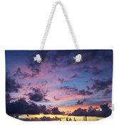 Cacti Sunset Weekender Tote Bag