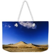 Lonely Cloud Over Sand Dunes At Bruneau Dunes State Park Idaho Usa Weekender Tote Bag