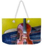 Lonely Fiddle Weekender Tote Bag