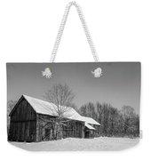 Lonely Grey Barn Weekender Tote Bag