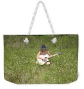 Lonely Guitar Two Weekender Tote Bag