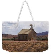 Lonely Schoolhouse Weekender Tote Bag