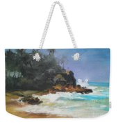 Lonely Sea Weekender Tote Bag
