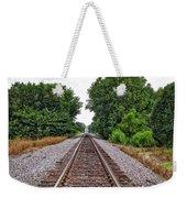 Lonely Track Weekender Tote Bag