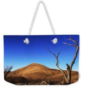 Lonely Bare Tree And Sanddunes Weekender Tote Bag