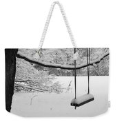 Lonely Winter Swing Ipswich Ma Weekender Tote Bag